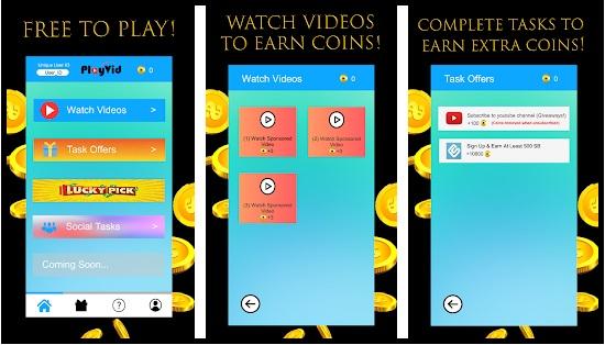 PlayVid Apk Penghasil Uang