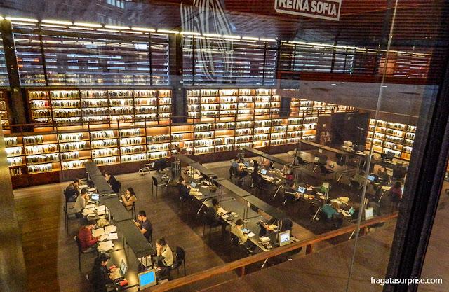 Biblioteca do Centro de Artes Reina Sofia, Madri