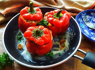 Peruvian Dish Rocoto Relleno