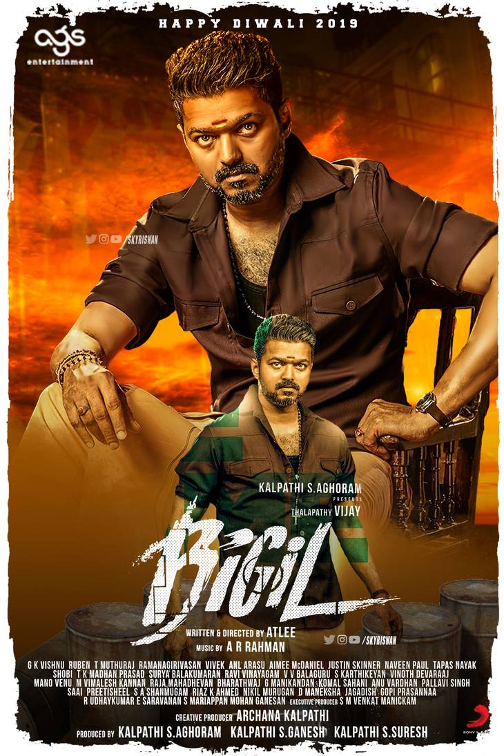 Bigil (2019) Tamil Movie 720p WEB-DL x264 1GB Download