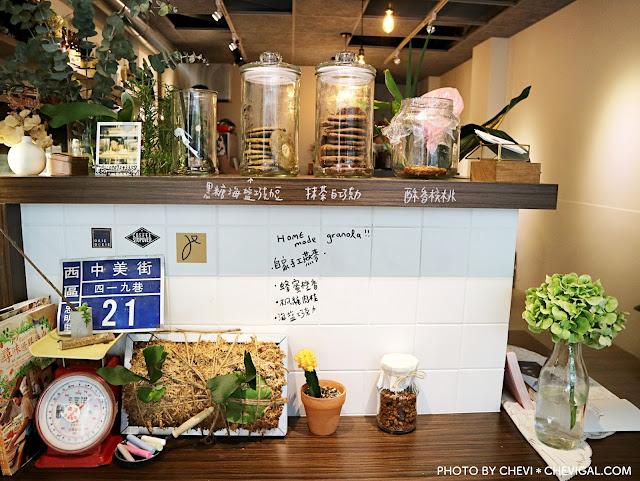 IMG 2802 - 台中西區│Jinjin studio 私宅甜點。隱身中美街的清新甜點店。另有鹹派與咖啡。闆娘還是氣質正妹!