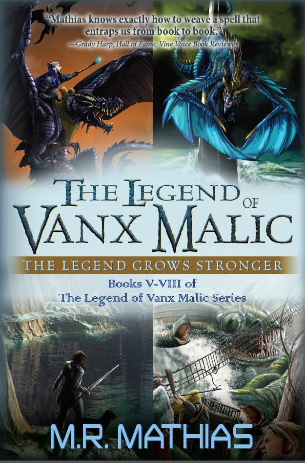 "Click Here To Order ""The Legend of Vanx Malic Bundle"" by M.R. Mathias!!!"