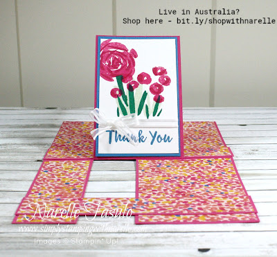A new gorgeous floral stamp set - Abstract Impressions - get yours here - https://www3.stampinup.com/ECWeb/product/147513/abstract-impressions-photopolymer-stamp-set?dbwsdemoid=4008228