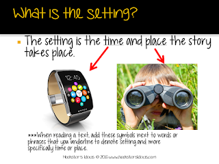 This simple strategy will help your child gather evidence that supports their ideas about when and where the story takes place.