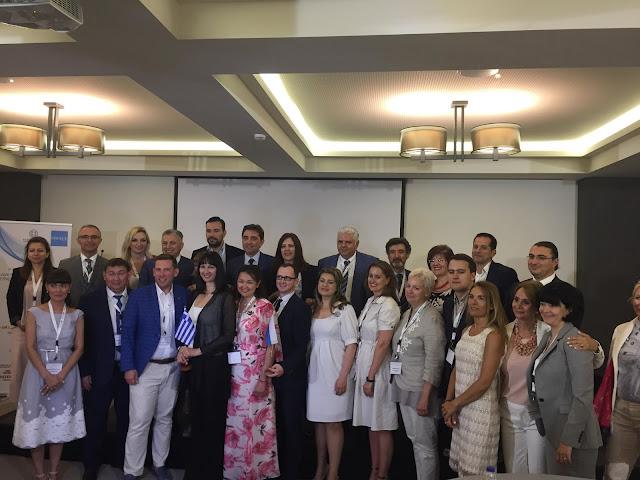 Στο 2ο Ελληνο - Ρωσικό Φόρουμ στην Χαλκιδική η Πελοποννήσος