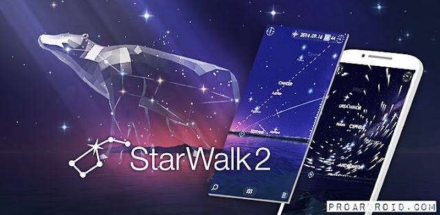 تطبيق Star Walk 2 لاشتكشاف الكون والنجوم على الأندرويد نسخة مدفوعة