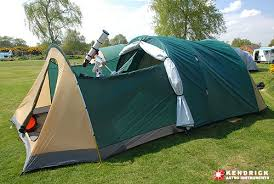 Kendrick astronomy tent with fly rolled back