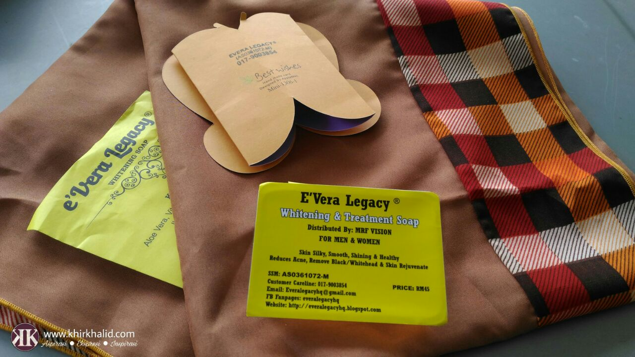 eVera Legacy Whitening Soap,