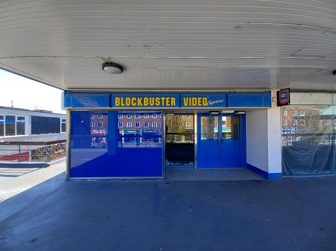 Blockbuster Video Express in Billingham