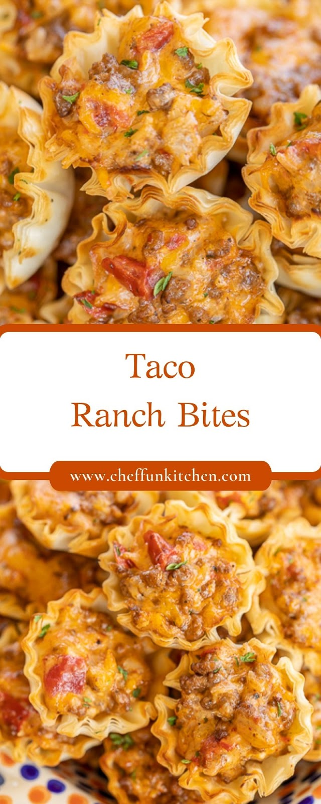 Taco Ranch Bites