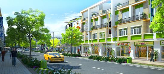 Mở bán dự án khu phố thương mại Olivine Town