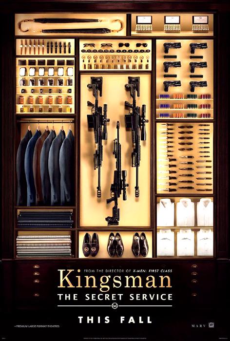 Poster pentru filmul de acţiune Kingsman: The Secret Service