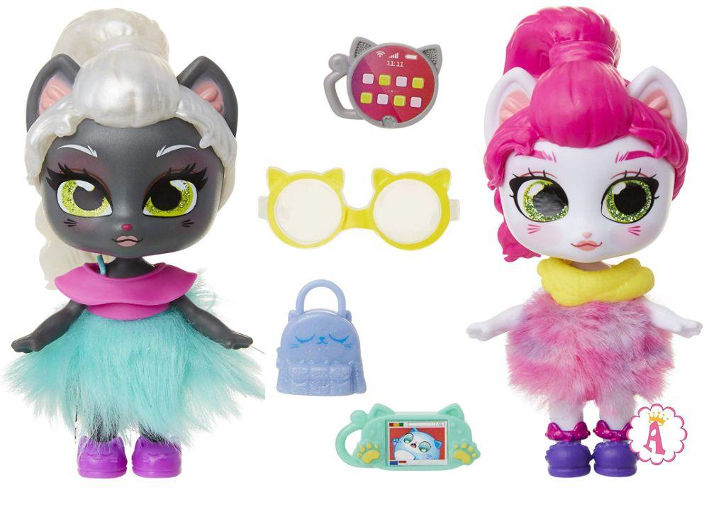 Новые игрушки 2020 кошки сюрпризы Kitten Catfe Purrista Girl