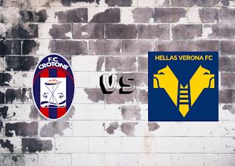 Crotone vs Hellas Verona  Resumen y goles