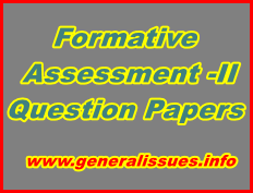 Formative-question-papers