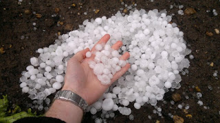 Snow falls in Ekiti State