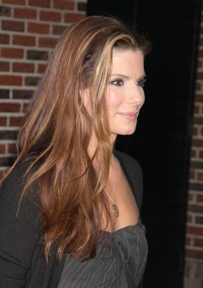 Sandra Bullock Long Blonde Hairstyles Celebrity Hair Cuts