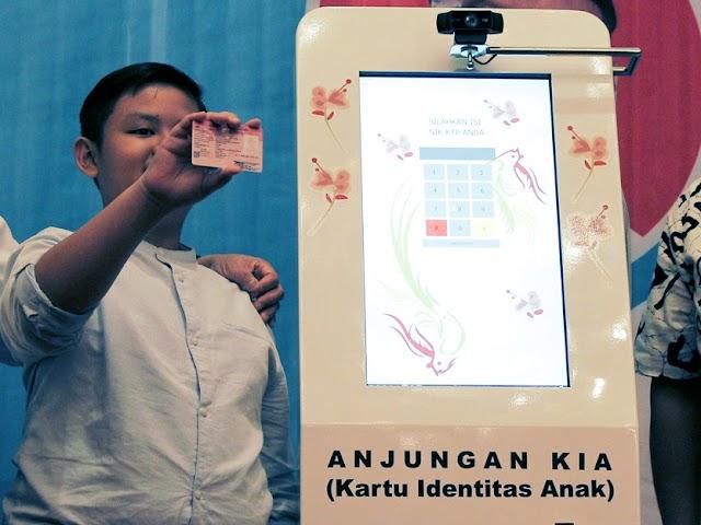 Ini Tata Cara Membuat Kartu Identitas Anak di Anjungan KIA BTC Mall