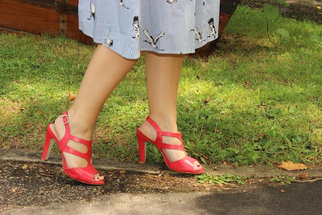 Sandale rose minelli