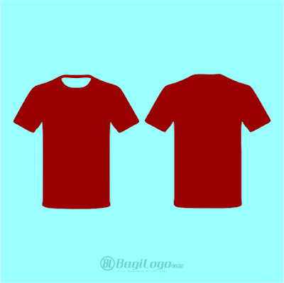 Mockup T-Shirt Template Vector cdr