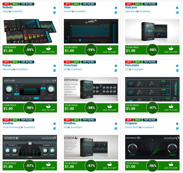 cheap audio plugins free download