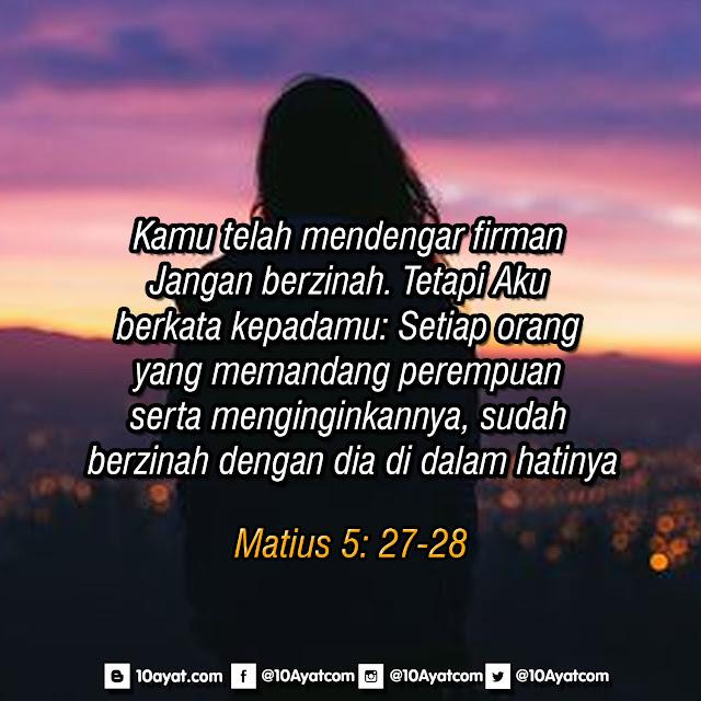 Matius 5: 27-28