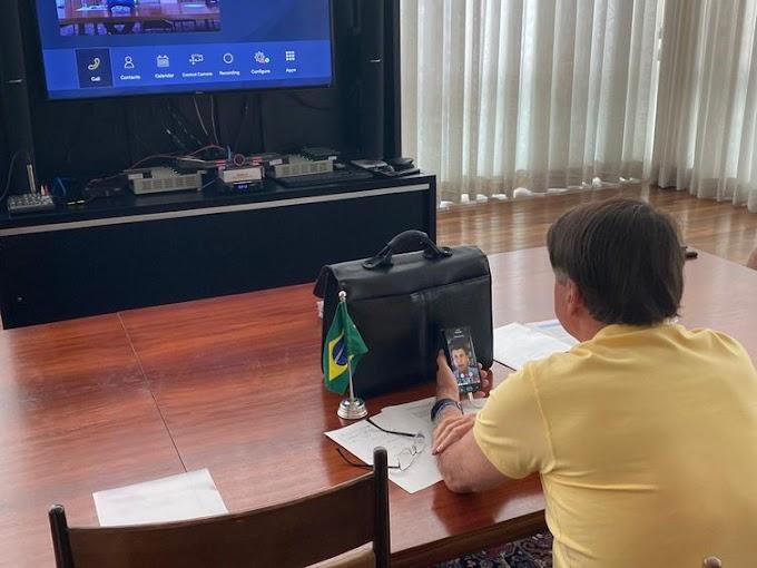 Bolsonaro e presidente do BNDES anunciam R$55 bilhões para enfrentar coronavírus