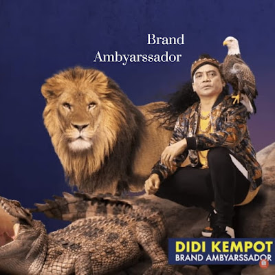 Didi Kempot resmi diangkat sebagai brand ambyarssador Shopee Indonesia
