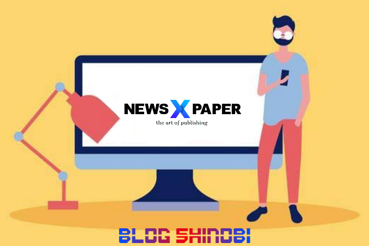 Newspaper X Redesign Template Blogger
