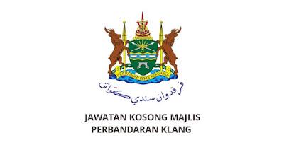 Jawatan Kosong Majlis Perbandaran Klang 2020 (MPK)