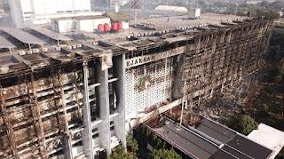 Berikut 8 Tersangka Kebakaran Gedung Kejagung serta Perannya