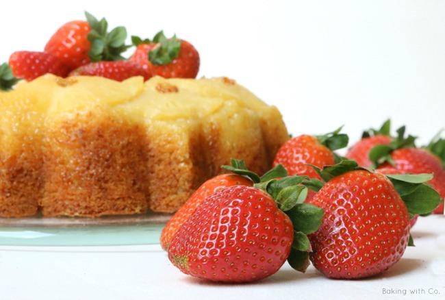 bundt cake de pinya