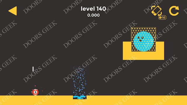 Ball & Ball Level 140 Solution, Walkthrough, Cheats for android and ios