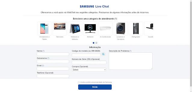 Samsung - Chat Online
