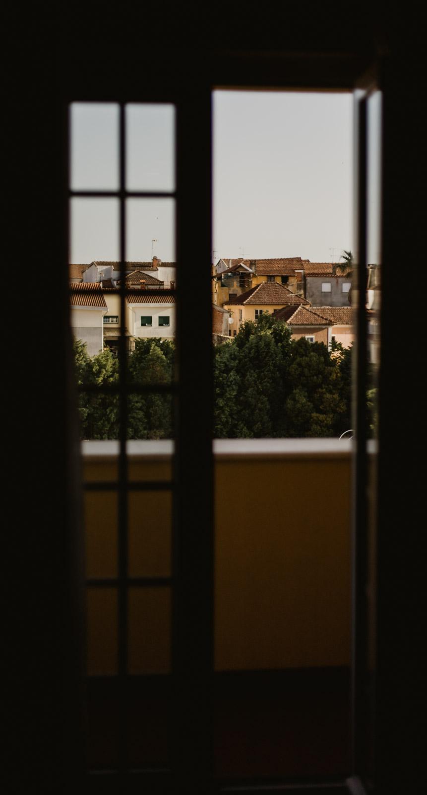 Vista de um dos quarto do Grande Hotel de Luso