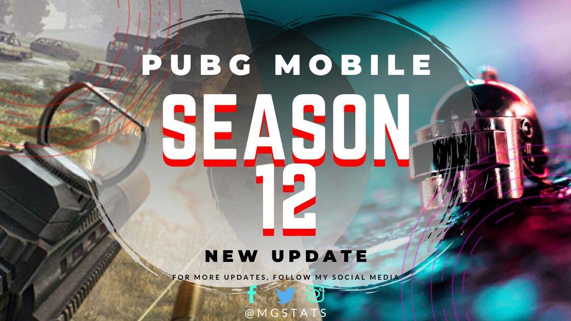 PUBG MOBILE Season 12 Update