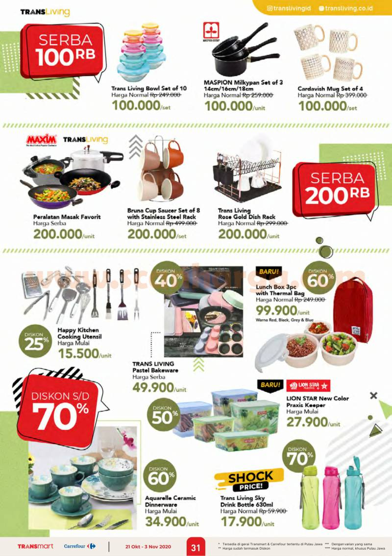 Katalog Promo Carrefour 21 Oktober - 3 November 2020 31