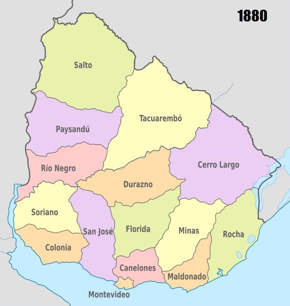 Departamentos do Uruguai