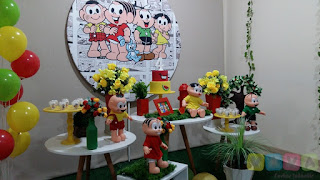 Decoração festa infantil Turma da Mônica Porto Alegre