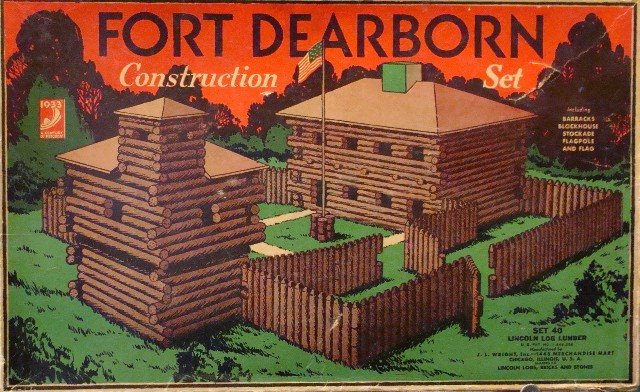 The Digital Research Library Of Illinois History Journal Lincoln Logs Construction Toy Began