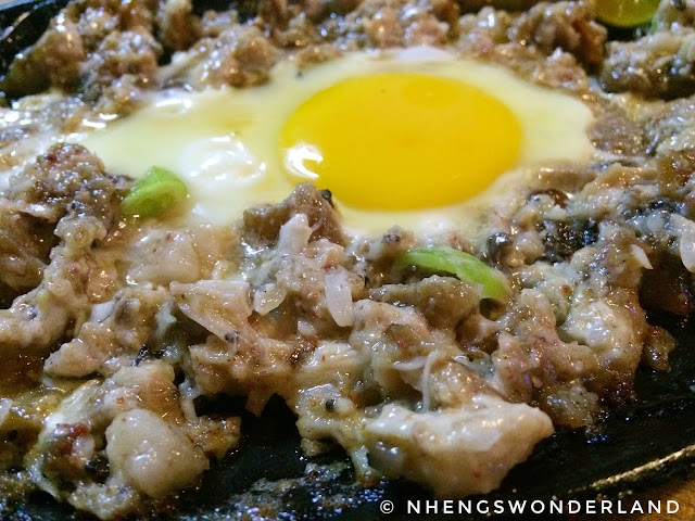 Sizzling Pork Sisig - East Lodge Restobar