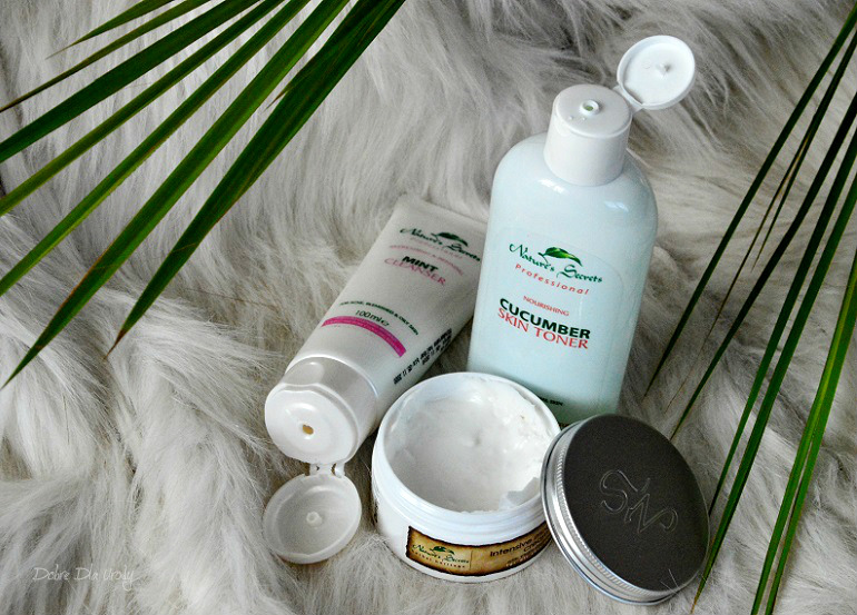 Naturalne kosmetyki Nature's Secret z Papaya Store  recenzja
