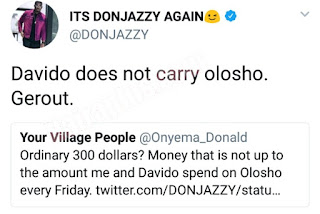 Davido does not carry prostitutes - Don Jazzy
