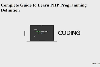 Complete Guide to Learn PHP Programming Definition, History of PHP
