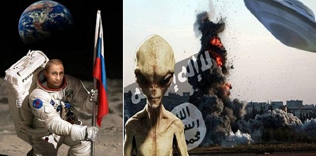 Δεν είναι αστείο: Η Μόσχα παίρνει τεχνολογία απο εξωγήινους, οι Ηνωμένες Πολιτείες ειναι ανίσχυρες!