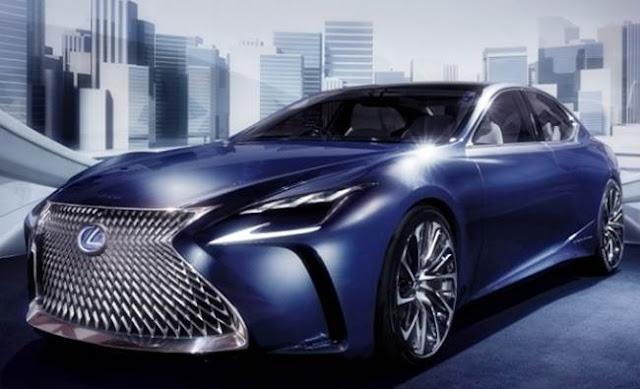 2018 Lexus LS Redesign