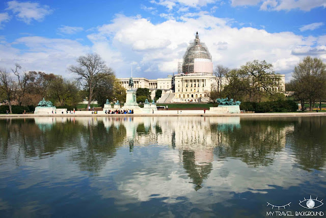 My Travel Background : 12 lieux à visiter à Washington D.C. - Le Capitole