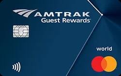 Amtrak Guest Rewards World Mastercard Review [Highest Offer: 50,000 Bonus Points + $100 Statement Credit]