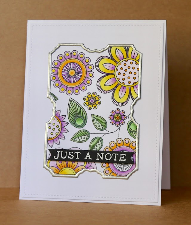 Papertrey Ink Stamp A Faire - Inspired by Muse!
