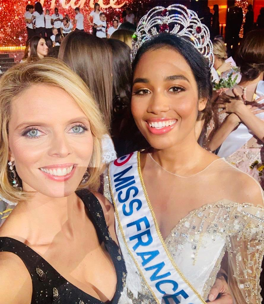 Clemence Botino of Guadeloupe is named Miss France 2020 in Marseille